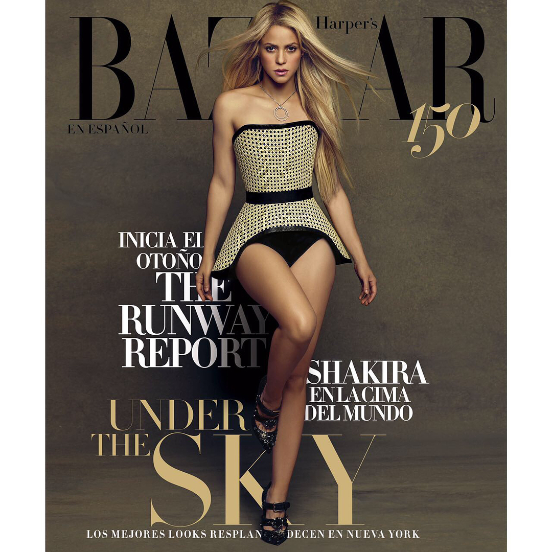 Hapers Bazaar Latin America - August 2017