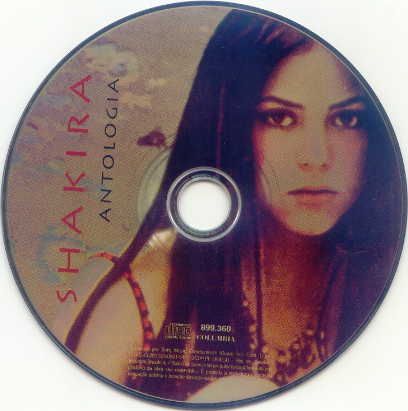 Shakira - Antologia (1995)